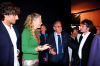 Centro Culturale S.sebastiano:L'Arista Alessandro Antonino,Licia Colò e il Sindaco Nino sidoti. DSC_0100  - Montagnareale (5698 clic)