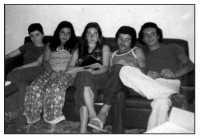 Vecchie foto:Mela Spatola,Tina Carro,Antonuccia Spatola,Gianni Cappadona e Lino....  - Montagnareale (6520 clic)