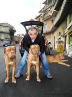 DSCN0462x1_-Gaetano De Luca e il suo cane Perla   - Montagnareale (2761 clic)