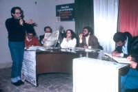 Basiilio caporlingua interviene a un convegno sull'aborto. Presiede il convegno il Prof. Nino Casamento  - Montagnareale (3042 clic)