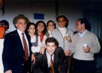 Carnevale a Montagnareale. Riccardo Sidoti,Davide Spatola,Maria,Tetesa,Mariella,Totuccio,Antonello.  - Montagnareale (4730 clic)