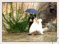 Matrimonio:sotto la pioggia.  - Montagnareale (5476 clic)