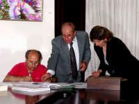 Insediamento Consiglio Comunale. Il segretario Comunale Vincenzo Princiotta,il Presidente Giuseppe Gullotti e il Vicepresidente Rosaria Buzzanca.  - Montagnareale (3582 clic)