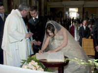 Matrimonio:la firma.  - Montagnareale (2898 clic)