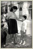 Mia Madre ed io il giorno della mia Prima Comunione.  - Montagnareale (3790 clic)