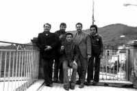 Da sinistra:Mimmo Pontillo,Gianni Cappadona,Rosario Barbitta,Antonello Cappadona,Pippo Palmeri.  - Montagnareale (4586 clic)