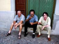 Franco Pintabona,Pippo Bisci e Nino U tedescu.  - Montagnareale (3557 clic)
