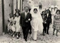 Vecchie foto:matrimonio Mario Spinella e Salvina Calabrò. 0002  - Sorrentini di patti (13731 clic)