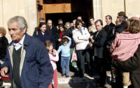 Uscita dalla Chiesa.  - Montagnareale (3005 clic)