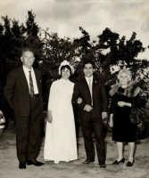 Vecchie foto:Mio zio Giuseppe e mia zia Angelina al matrimonio   - Montagnareale (4556 clic)
