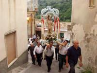 S.Sebastiano,Processione.  - Montagnareale (1996 clic)