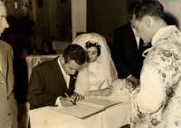 Vecchie foto:Matrimonio Mario Spinella e Salvina Calabro'. 0005.  - Sorrentini di patti (4091 clic)