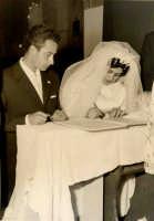 Vecchie foto:Matrimonio Mario Spinella e Salvina Calabro'. 0006.  - Sorrentini di patti (4165 clic)