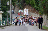 S.Sebastiano,Processione. il Vigile urbano Francesco Barbitta.  - Montagnareale (3418 clic)