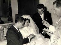 Vecchie foto:Matrimonio Mario Spinella e Salvina Calabro'. 0007.  - Sorrentini di patti (3815 clic)