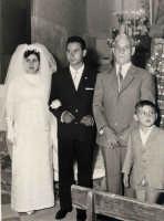 Vecchie foto:Matrimonio Mario Spinella e Salvina Calabro'. 0008.  - Sorrentini di patti (4987 clic)