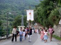 S.Sebastiano,Processione.  - Montagnareale (1932 clic)