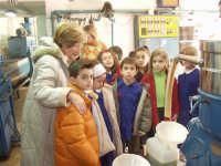 I bambini della scuola elementare visitano con la Maestra santa Schiaffino l'Oleificio Palmeri sito in Montagnareale.  - Montagnareale (3251 clic)