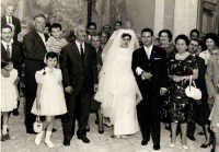 Vecchie foto:Matrimonio Mario Spinella e Salvina Calabro'. 0011  - Sorrentini di patti (4667 clic)