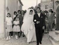 Vecchie foto:Matrimonio Mario Spinella e Salvina Calabro'. 0012.  - Sorrentini di patti (4554 clic)