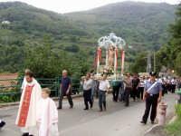 S.Sebastiano,Processione.  - Montagnareale (1919 clic)