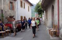 S.Sebastiano,Processione.  - Montagnareale (1952 clic)