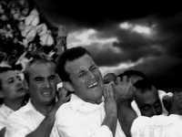 Processione M.S.S.D.Grazie. Da sin.Il Vicesindaco Calogero Cipriano,Pippo Palazzolo e Salvatore Milici.  - Montagnareale (3119 clic)