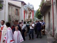 S.Sebastiano,Processione.  - Montagnareale (1957 clic)