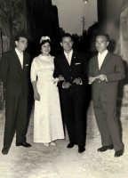Vecchie foto:Matrimonio Mario Spinella e Salvina Calabro'. 0017.  - Sorrentini di patti (3319 clic)