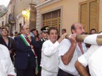 Il Sindaco Nino Sidoti,Il Mar.Amata,Francesco Gaglio e Buzzanca.  - Montagnareale (3099 clic)