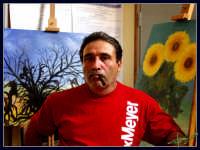 Il Maestro Giuseppe Gaglio con le sue opere.  - Montagnareale (3027 clic)