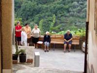 S.Sebastiano,Processione:la gente  - Montagnareale (2269 clic)