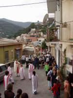 S.Sebastiano,Processione.  - Montagnareale (1958 clic)