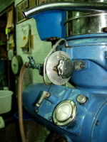 OLEIFICIO PALMERI: Questo è il separatore automatico Alfa-Laval viene usato solo per processare le acque vegetali.  - Montagnareale (4121 clic)
