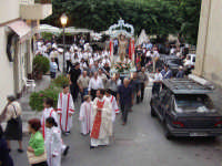 S.Sebastiano,Processione.  - Montagnareale (2072 clic)