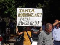 Manifestazione popolare contro la discarica.  - Patti (3187 clic)