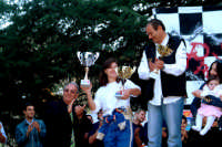 2°AUTOSLALOM CITTA' DI MONTAGNAREALE:premiazione L'unica donna partecipante.  - Montagnareale (2582 clic)