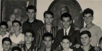 Padre Spiccia e i giovani dell'Azione Cattolica.  - Montagnareale (3907 clic)