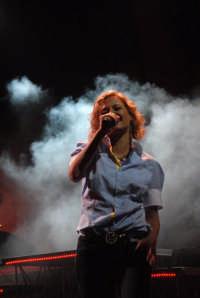 Irene Grandi in concerto  - Montagnareale (2665 clic)