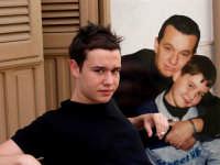 Mio Figlio Gianmarco ed io e Gianmarco da bambino.  - Montagnareale (2923 clic)