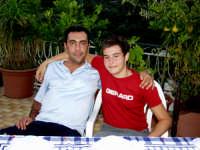 Mio Cugino Pippo e mio figlio Gianmarco.  - Montagnareale (3138 clic)