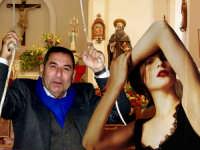 Carmelo il sagrestano e Ornella.  - Patti (3754 clic)