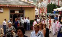 processione S.Sebastiano.  - Montagnareale (2286 clic)