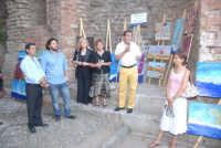 L'assessore alla cultura del comune di Taormina presenta la mostra di pittura organizzata dal centro
