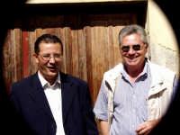 il Vic.Sindaco calogero Cipriano e il Prof.nino Casamento.  - Montagnareale (3576 clic)