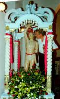 S.Sebastiano Processione,Don Tino Spatola l'organizzatore della festa.  - Montagnareale (2646 clic)