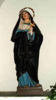 L'Addolorata:scultore Trovato Matteo di Barcellona P.G. Chiesa Madre di MOntagnareale-ME.  - Montagnareale (4772 clic)