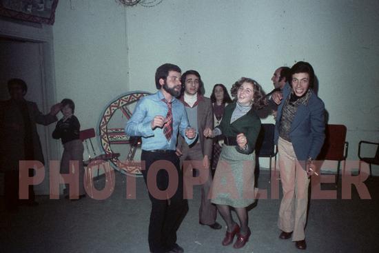 Carnevale;serata danzante nei locali del vecchio municipio-1969?? - MONTAGNAREALE - inserita il 01-Feb-11