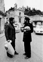 Il Prof Nino Casamento e Filippo il postino.  - Montagnareale (3341 clic)
