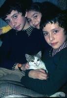 Carlo Battaglino,Ersilia e Piero Palmeri con Ernesto in braccio.   - Montagnareale (4737 clic)